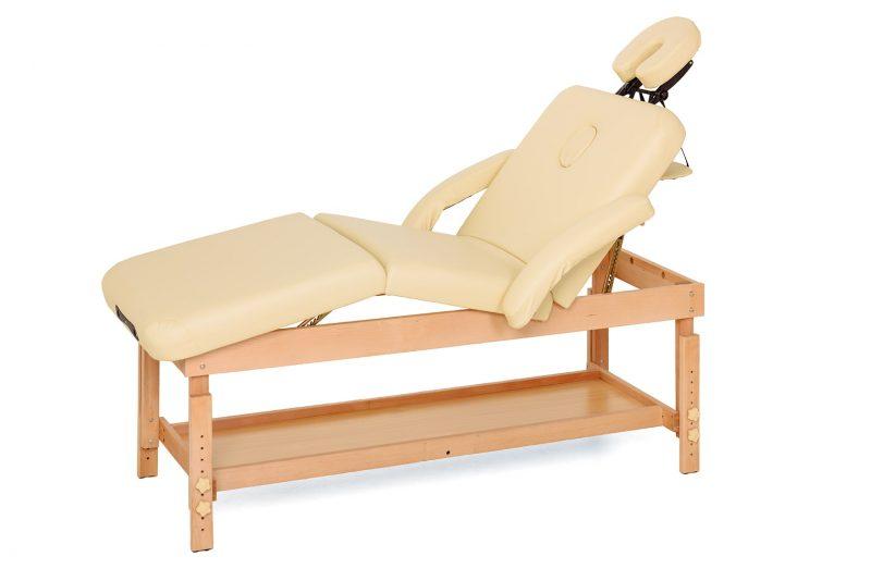 Profesionalna masažna miza statična-masažna-miza-roma-bež