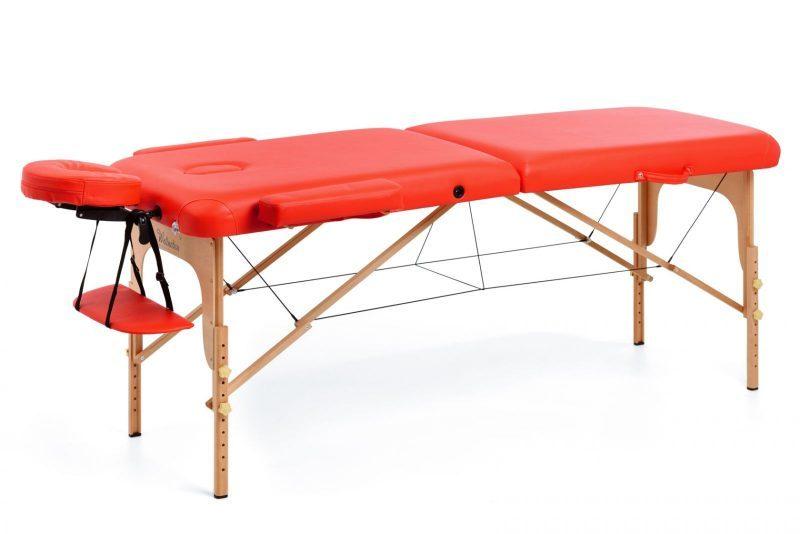masazna miza libera rdeca