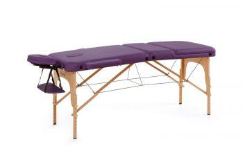 masazna miza hera vijolicna