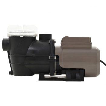 Črpalka za bazen s časovnikom črna 0