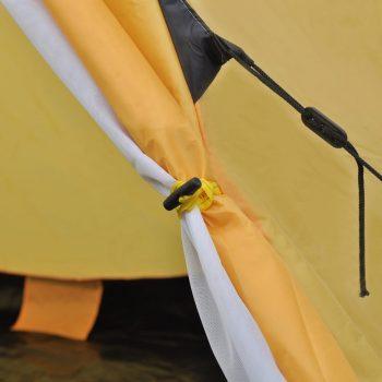 Šotor za 4 osebe rumene barve