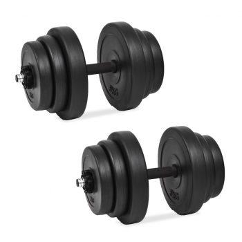 18 delni komplet uteži 40 kg