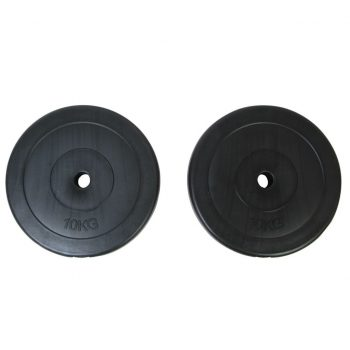 2 x Plošča za uteži 10 kg