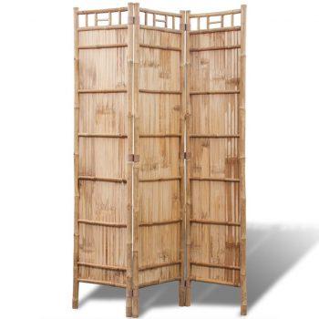 3-Delna Pregradna Stena iz Bambusa