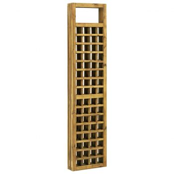 5-panelni paravan/mreža iz lesa akacije 200x170 cm