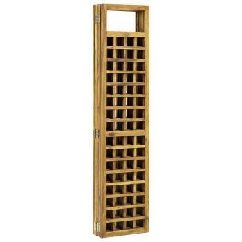 6-panelni paravan/mreža iz lesa akacije 240x170 cm
