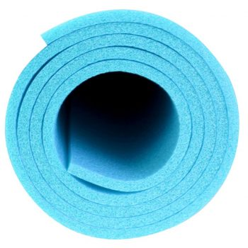Avento Fitnes podloga za jogo 160x60 cm modra PE 41VG-LBL-Uni