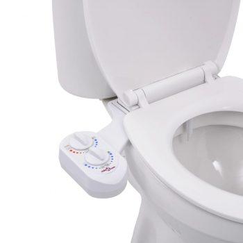 Bide nastavek za WC desko za vročo in mrzlo vodo z enojno šobo
