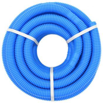 Cev za bazen z objemkami 38 mm 12 m modra
