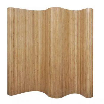 Delilnik prostora iz bambusa naravne barve 250x195 cm