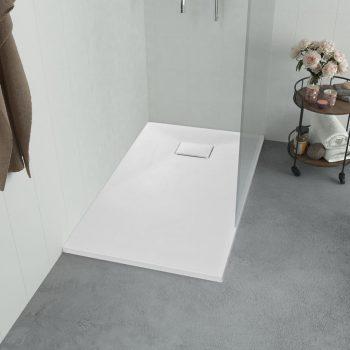 Kad za tuš SMC bela 120x70 cm