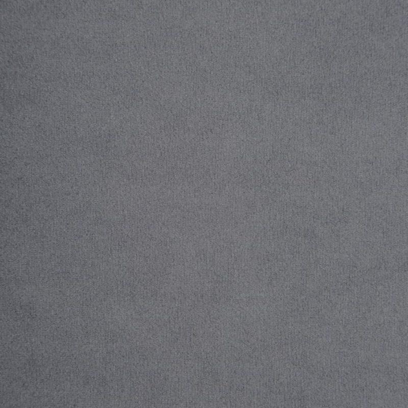 Kavč dvosed Chesterfield z žametno oblogo 146x75x72cm siv