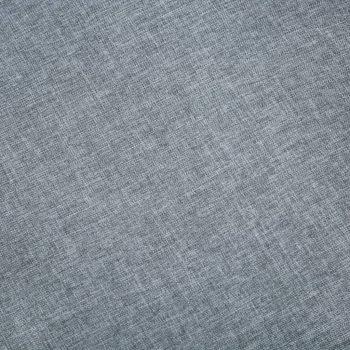 Kavč dvosed iz blaga svetlo sive barve