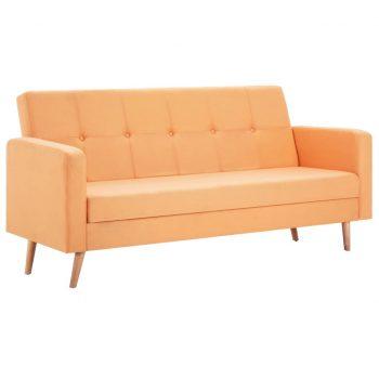 Kavč iz blaga oranžen