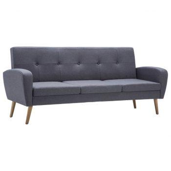 Kavč trosed iz blaga svetlo sive barve