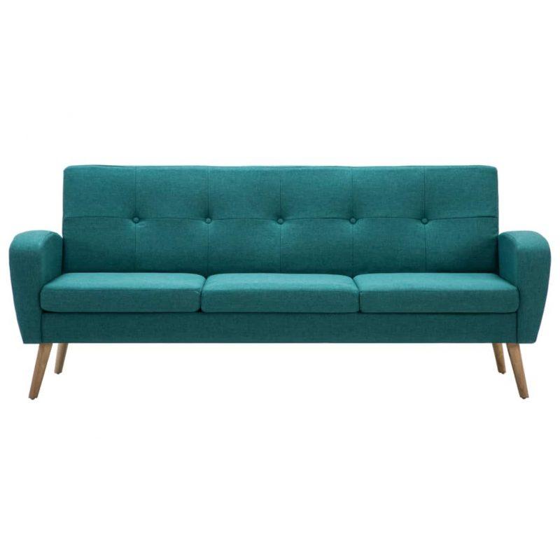 Kavč trosed iz blaga zelene barve