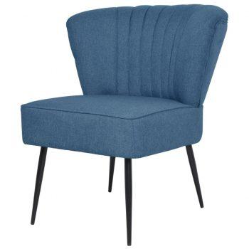 Klubski stol modro blago