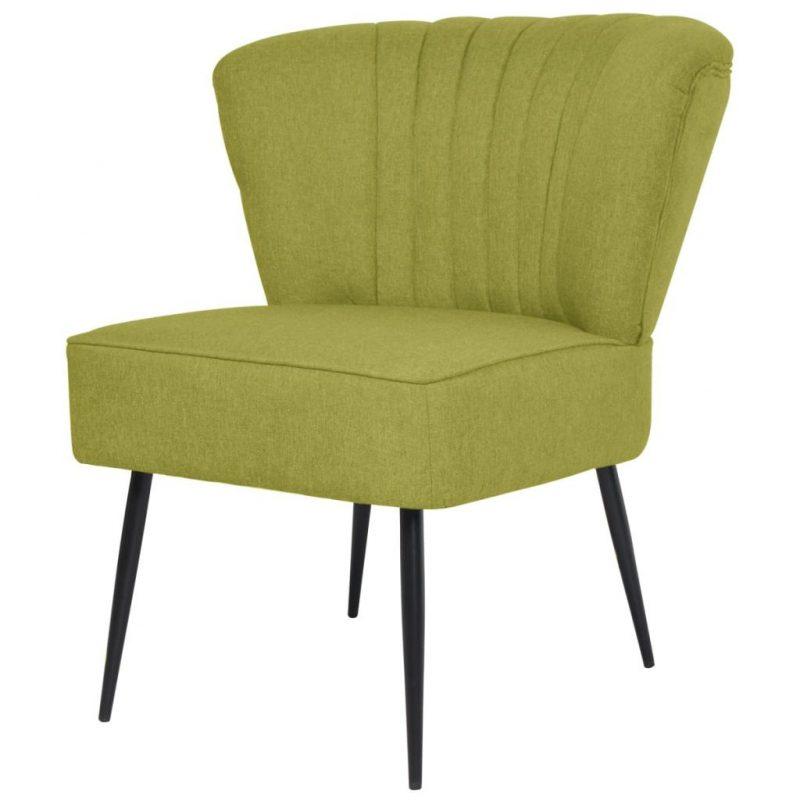 Klubski stol zeleno blago