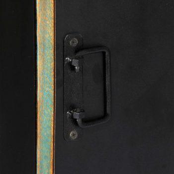 Knjižna polica 45x30x171 cm trden predelani les
