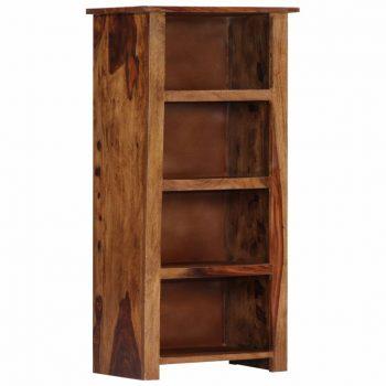 Knjižna polica 50x30x100 cm trden palisander
