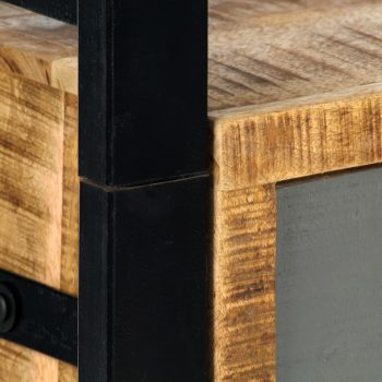 Knjižna polica 50x30x170 cm trden mangov les