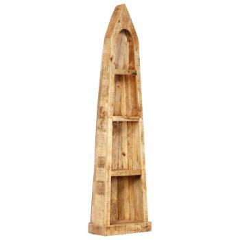 Knjižna polica 50x40x180 cm trden mangov les