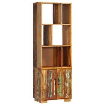 Knjižna polica 60x35x180 cm trden predelan les