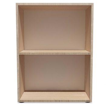 Knjižna polica iverna plošča 60x31x78 cm hrast