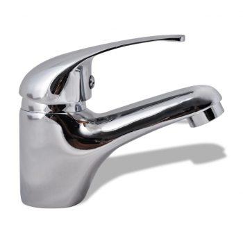 Kopalniška armatura za umivalnik krom