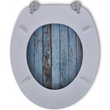 MDF wc deska dizajn starega lesa