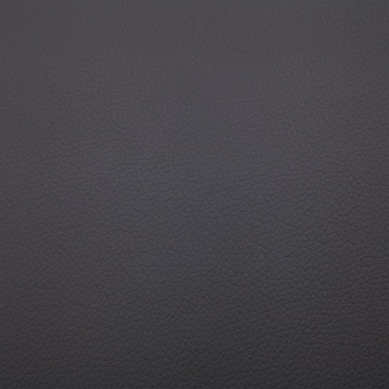 Masažni počivalnik z blazino sivo umetno usnje