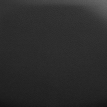 Masažni stol črno umetno usnje