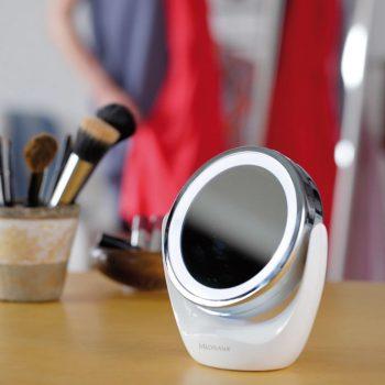 Medisana 2-v-1 Kozmetično Ogledalo CM 835 12 cm Bele Barve 88554
