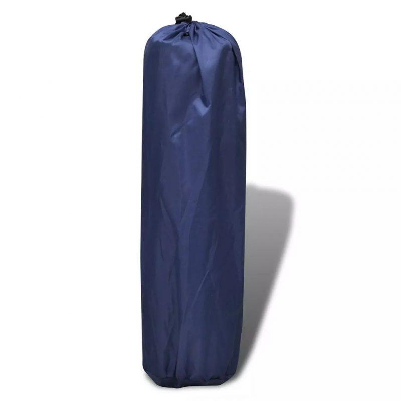 Modra samo napihljiva blazina 185 x 55 x 3 cm (enojna)
