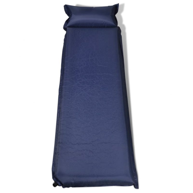Modra samonapihljiva vzmetnica 10 x 66 x 200 cm