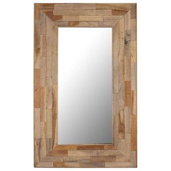 Ogledalo iz predelane tikovine 50x80 cm