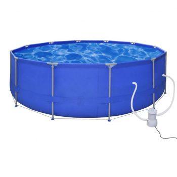 Okrogel bazen 457 cm in filter črpalko 2000 L / h