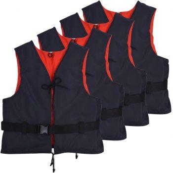 Plovni pripomočki 4 kosi 50 N 30-50 kg mornarsko modri