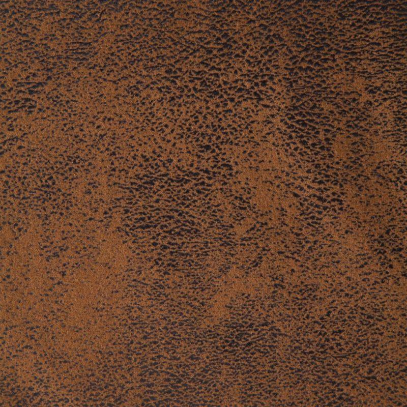 Počivalnik iz umetnega semiš usnja rjav