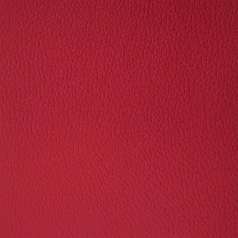 Počivalnik rdeče umetno usnje
