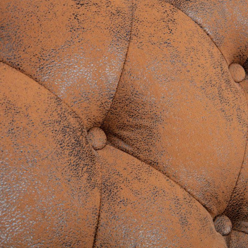 Počivalnik rjav iz umetnega semiš usnja