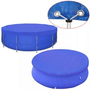 Pokrivalo za bazen PE okroglo 540 cm 90 g/m²