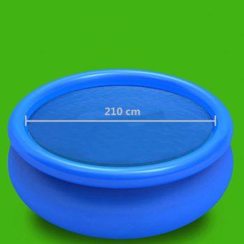 Pokrivalo za bazen modro 210 cm PE
