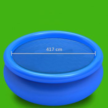 Pokrivalo za bazen modro 417 cm PE