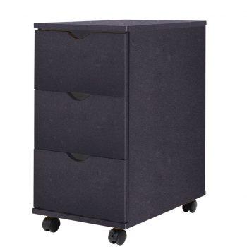 Predalnik 33x45x60 cm črne barve