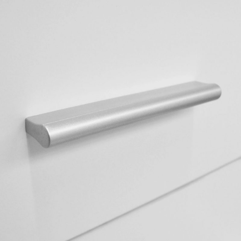 Predalnik za shranjevanje iverna plošča 71x35x108 cm bele barve