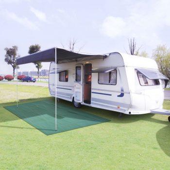 Preproga za šotor 250x200 cm zelena
