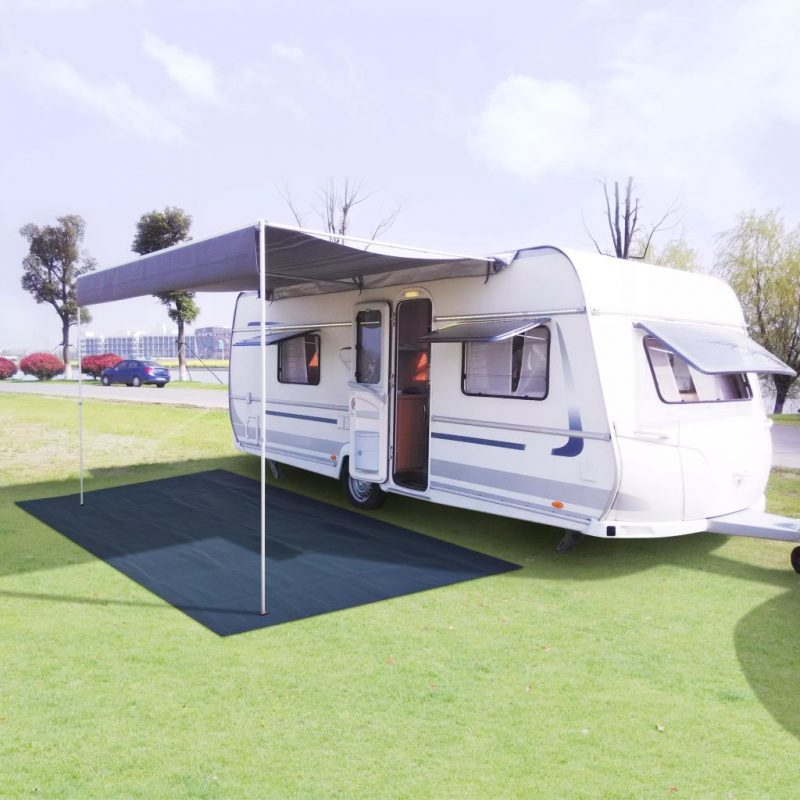 Preproga za šotor 300x400 cm modra