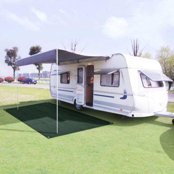 Preproga za šotor HDPE 250x600 cm zelena