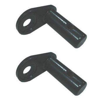 Priključki za kolesarsko prikolico 2 kosa železo